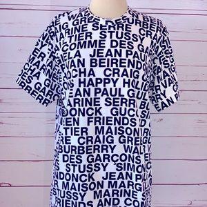 NWT Comme des Garçons and friends tee men's L rare